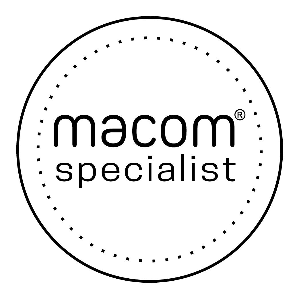 macom badge