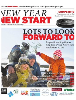 Crystal Smooth in The Mail - New Year New Start issue - January 2015
