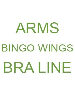 Arms / Bingo wings / Bra-line